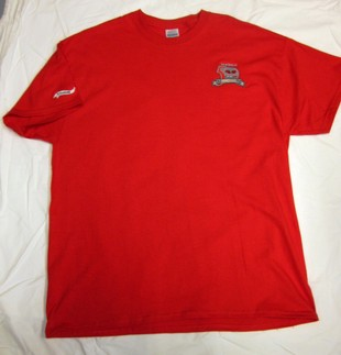 50TH ANNIVERSARY RED T SHIRT